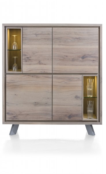 Genova Highboard Eiche